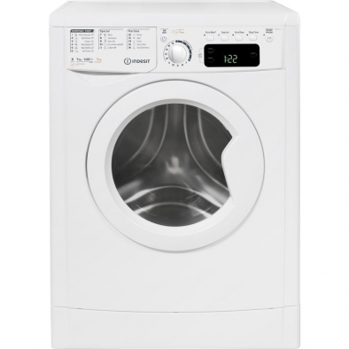 Indesit EWDE7145W Washer Dryer Freestanding