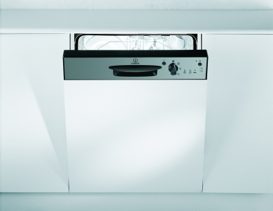 Indesit DPG15IX Semi-Integrated Dishwasher