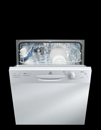 Indesit DPG15B1  Semi-Integrated Dishwasher