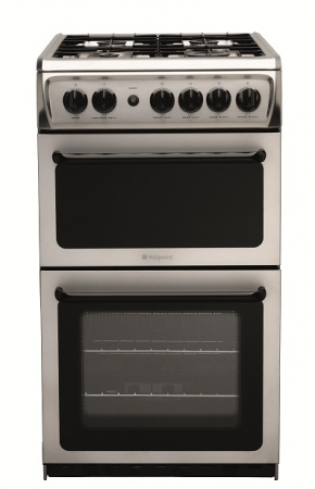 HOTPOINT HAG51X Gas Cooker Freestanding