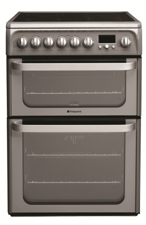 HOTPOINT HUE62G Electric Cooker Freestanding