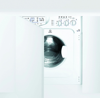 Indesit IWDE126 Washer Dryer Integrated