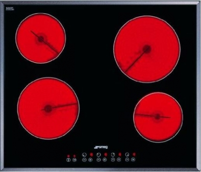 Smeg SE2641TC2 Integrated Hob