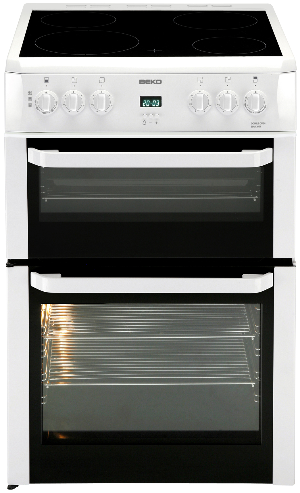 Electric Cookers Freestanding ~ Buy cookers in london beko bdvc w electric cooker