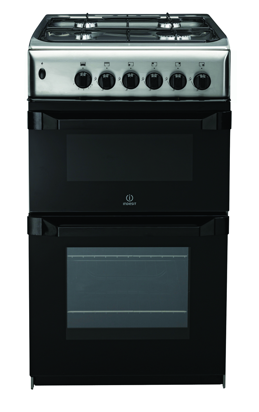 buy cookers in london indesit it50g1x gas cooker. Black Bedroom Furniture Sets. Home Design Ideas