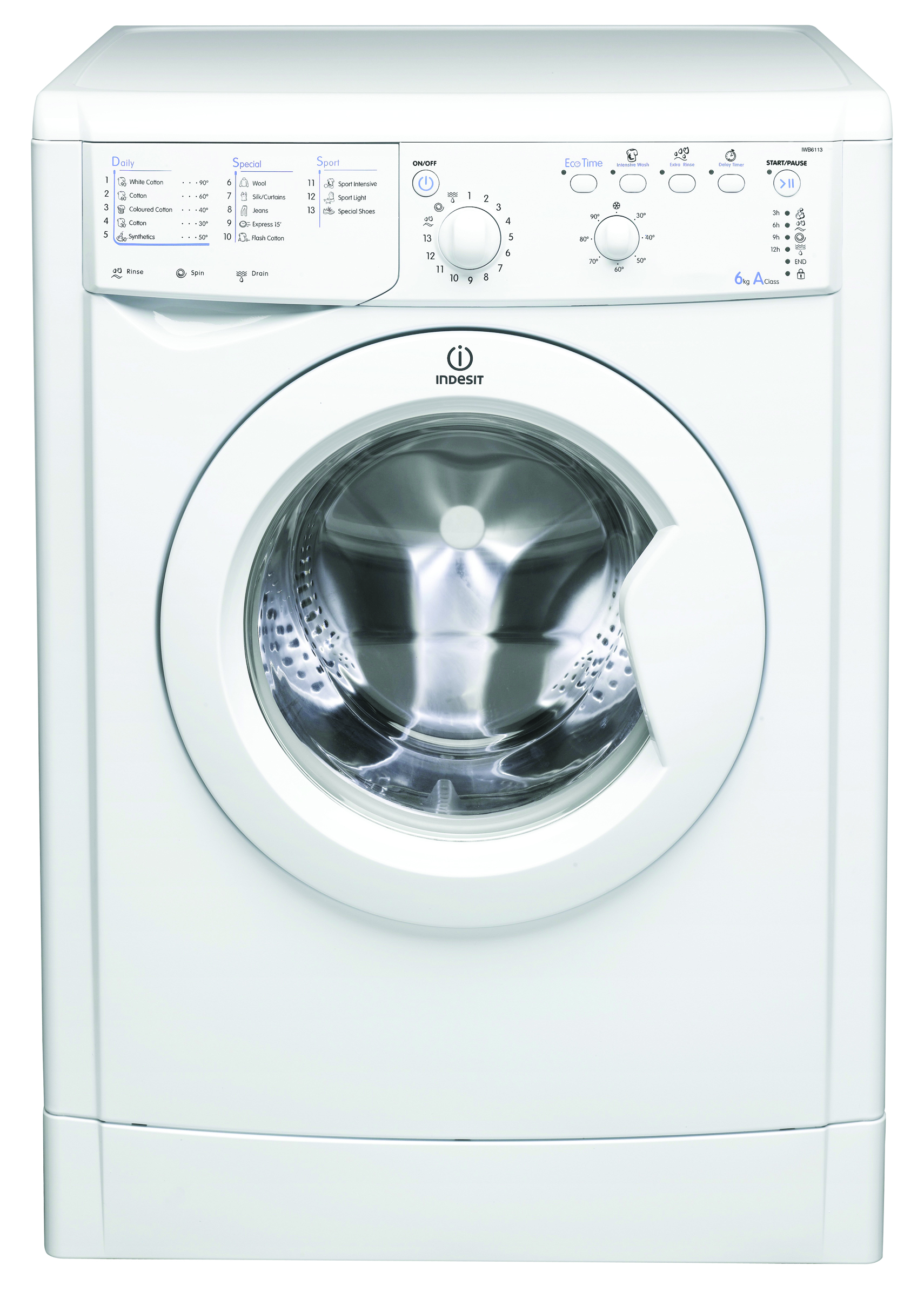 buy washing machines in london indesit iwb71251 eco. Black Bedroom Furniture Sets. Home Design Ideas