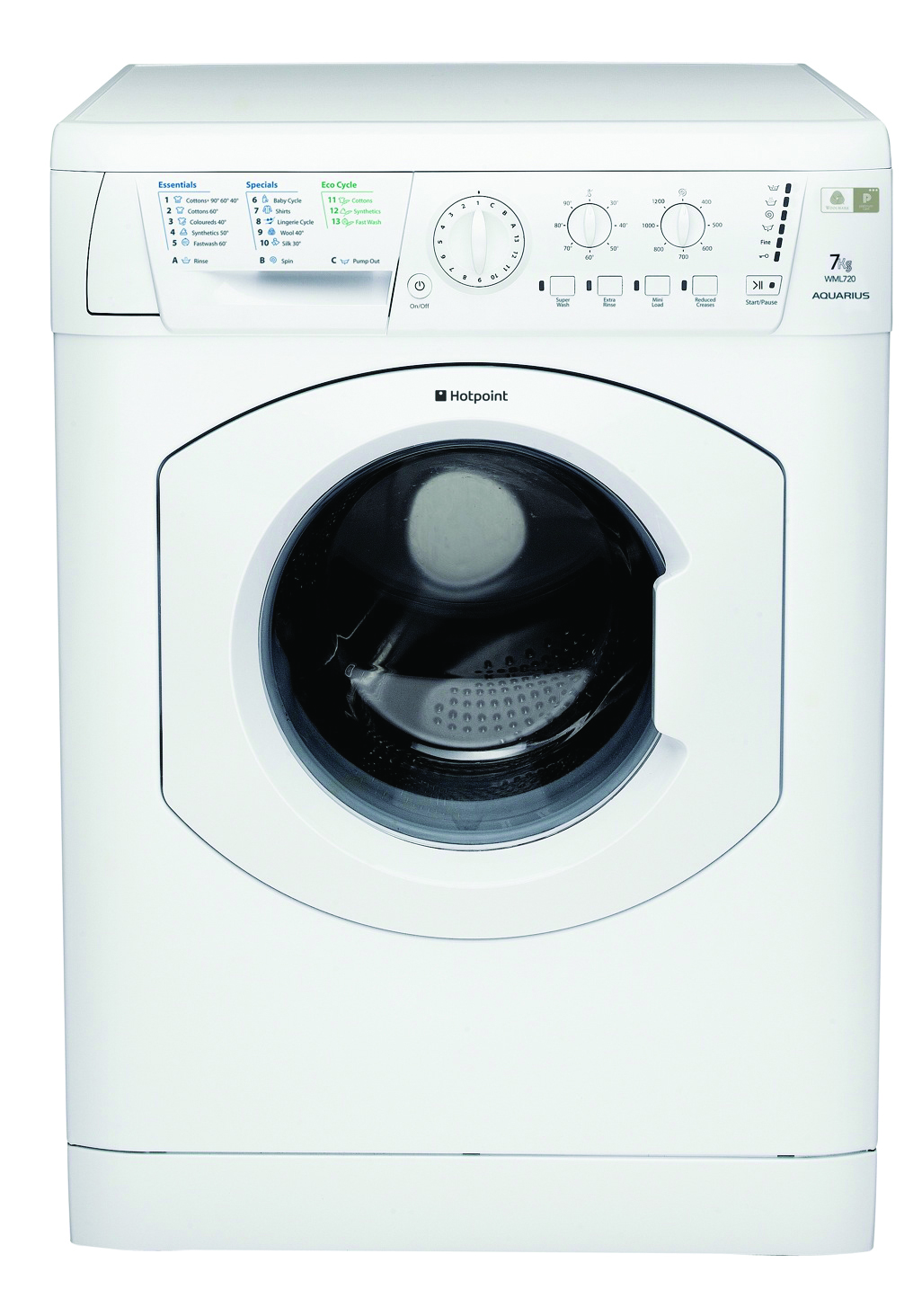 buy washing machines in london hotpoint wml721p washing. Black Bedroom Furniture Sets. Home Design Ideas