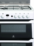 Indesit ID60G2W Gas Cooker Freestanding