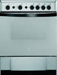 Indesit K6G210SXG Gas Cooker Freestanding