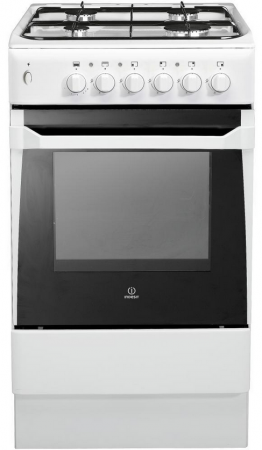 Indesit IS50GW Gas Cooker Freestanding