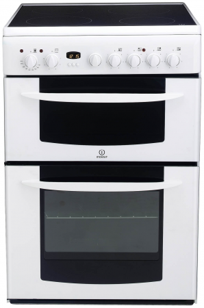 Indesit KD6C35W Electric Cooker Freestanding