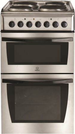 Indesit KD3E11XG Electric Cooker Freestanding