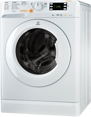 Indesit XWDE861480XW Washer Dryer Freestanding