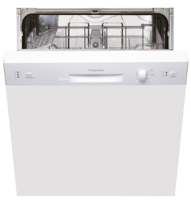 HOTPOINT LSB5B019W  Semi-Integrated Dishwasher